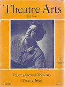 Theatre Arts Magazine July 1945 Magazine