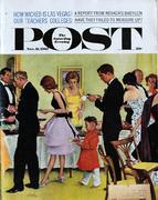 The Saturday Evening Post November 11, 1961 Magazine