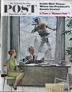 The Saturday Evening Post September 17, 1960 Magazine