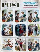 The Saturday Evening Post April 8, 1961 Magazine