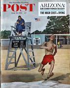 The Saturday Evening Post June 17, 1961 Magazine