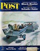 The Saturday Evening Post July 14, 1962 Magazine