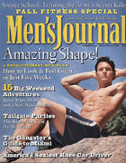 Men's Journal Magazine October 2002 Magazine