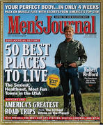 Men's Journal Magazine April 2005 Magazine