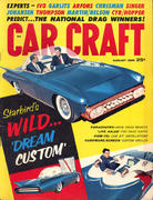 Car Craft Magazine August 1960 Magazine