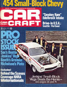 Car Craft Magazine April 1972 Magazine