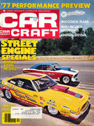 Car Craft Magazine October 1976 Vintage Magazine