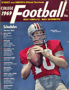 Street & Smith's College Football Yearbook Magazine
