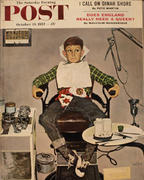 The Saturday Evening Post October 19, 1957 Magazine