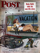 The Saturday Evening Post February 14, 1948 Magazine