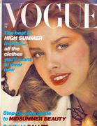 Vogue Magazine July 1979 Magazine