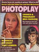 Photoplay Magazine January 1970 Magazine