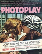 Photoplay Magazine November 1971 Magazine