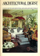 Architectural Digest November 1975 Magazine