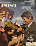 The Saturday Evening Post June 1, 1968 Magazine
