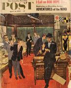 The Saturday Evening Post April 26, 1958 Magazine