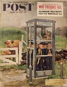 The Saturday Evening Post August 26, 1961 Magazine