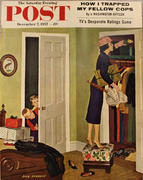 The Saturday Evening Post December 7, 1957 Magazine