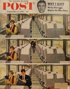 The Saturday Evening Post September 15, 1956 Magazine