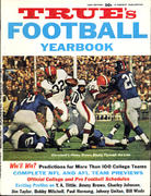 True's Football Yearbook 1964 Edition Magazine
