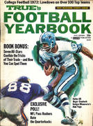 True's Football Yearbook 1972 Edition Magazine