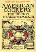 American Cookery Magazine August 1928 Magazine
