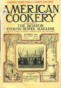 American Cookery Magazine December 1928 Magazine
