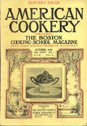American Cookery Magazine October 1929 Magazine