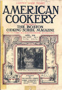 American Cookery Magazine April 1930 Magazine