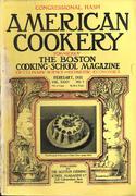 American Cookery Magazine February 1931 Magazine