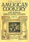 American Cookery Magazine March 1931 Magazine