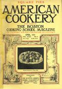American Cookery Magazine April 1931 Magazine