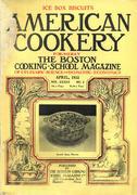 American Cookery Magazine April 1932 Magazine