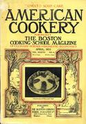 American Cookery Magazine April 1933 Magazine