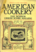 American Cookery Magazine August 1933 Magazine