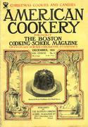 American Cookery Magazine December 1933 Magazine