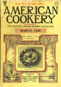 American Cookery Magazine March 1935 Magazine