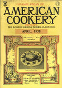 American Cookery Magazine April 1935 Magazine