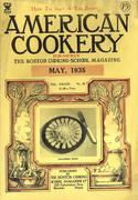 American Cookery Magazine May 1935 Magazine