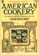 American Cookery Magazine June 1935 Magazine