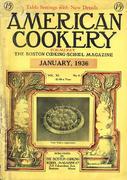 American Cookery Magazine January 1936 Magazine