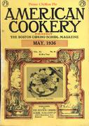 American Cookery Magazine May 1936 Magazine