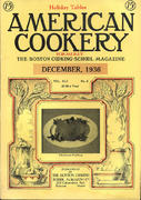 American Cookery Magazine December 1936 Magazine