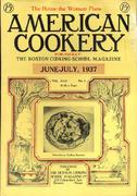 American Cookery Magazine June 1937 Magazine