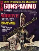 Guns & Ammo Magazine December 1970 Magazine