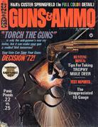 Guns & Ammo Magazine November 1972 Magazine