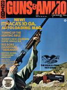 Guns & Ammo Magazine August 1974 Magazine