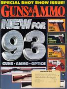 Guns & Ammo Magazine February 1993 Magazine