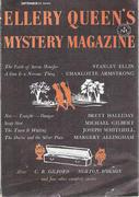 Ellery Queen's Mystery Magazine September 1957 Magazine