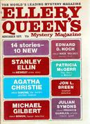Ellery Queen's Mystery Magazine November 1971 Magazine